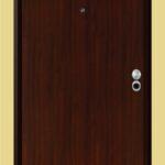 Puerta Blindada Línea Minimalista Modelo Milano Caoba