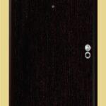 Puerta-Blindada-Línea-Aluminio-Wengué-Modelo-Brescia