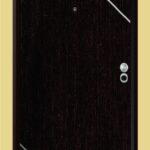 Puerta-Blindada-Línea-Aluminio-Wengué-Modelo-Forli